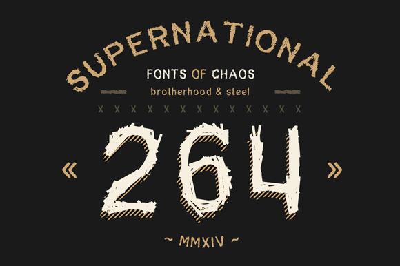 SuperNational 264 Font