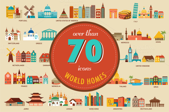 Homes From The World 70 Illustration