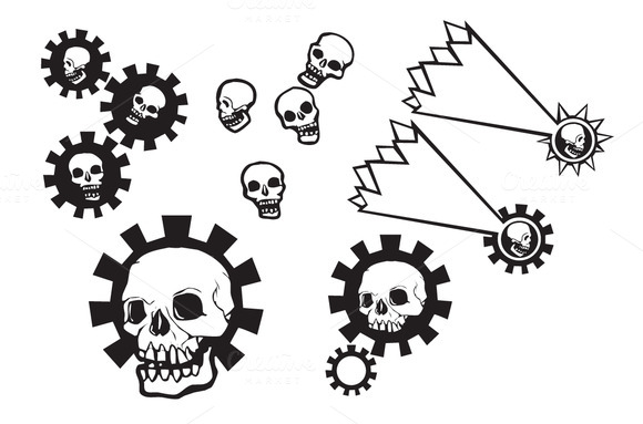 Skulls And Gears