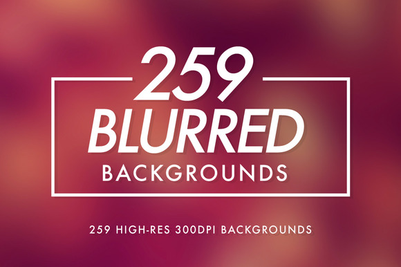 259 Blurred Backgrounds