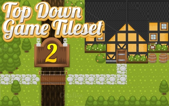 Top-Down Game Tileset 2