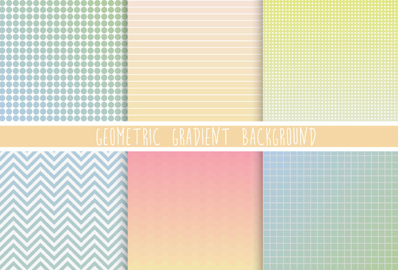 Geometric Gradient Background