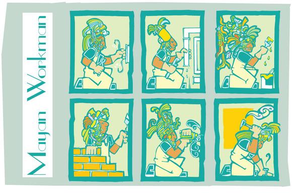 Mayan Workmen