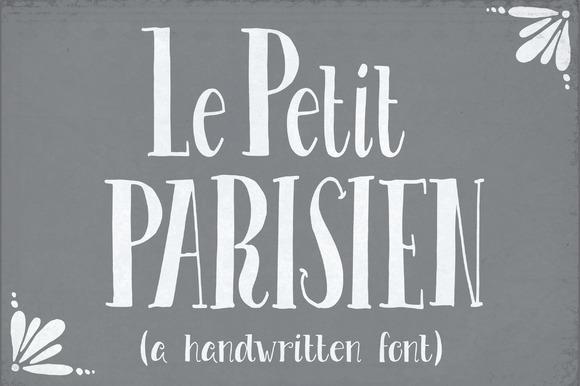 Le Petit Parisien Font