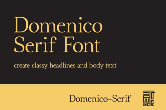 Domenico Serif