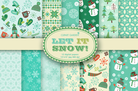 Winter Papers Pack