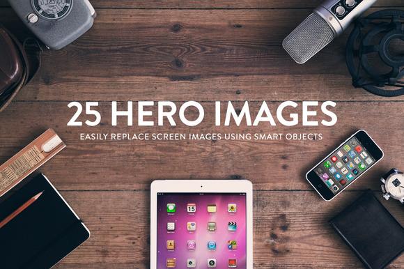 25 Header Hero Images Wood Series