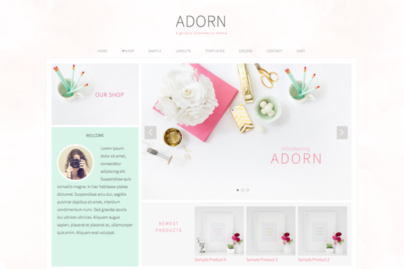 Adorn An Ecommerce Genesis Theme