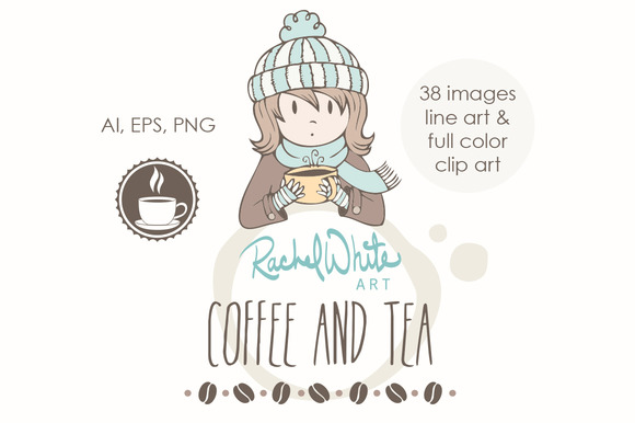 Coffee Tea Vector PNG