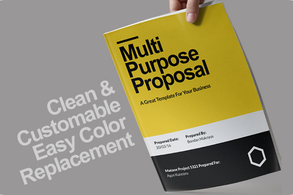 Murni Proposal Template