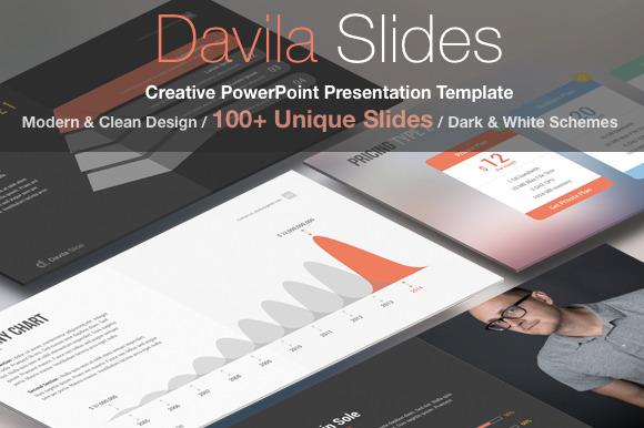 Davila 100 Unique Slide-Powerpoint