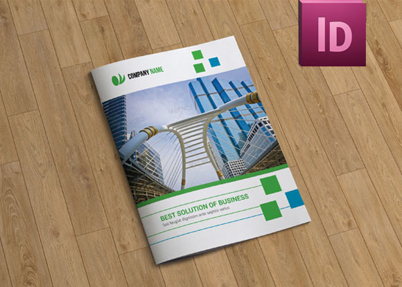 InDesign Brochure Template-8 Pages