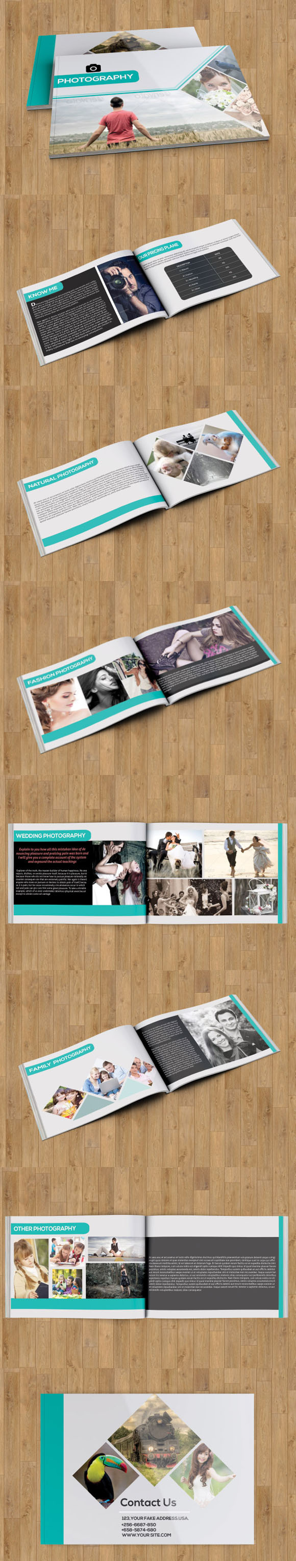 Photography Brochure Catalog-14 Page