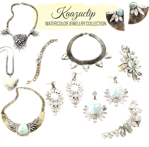 Watercolor Jewelry Collection