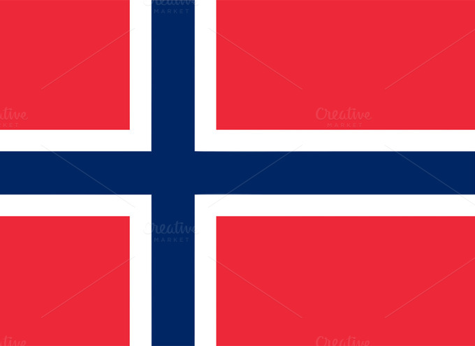 Flag Or Norway