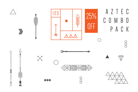 Aztec Combo Pack 25% OFF