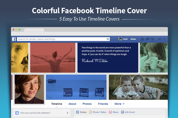 Colorful Facebook Timeline Cover