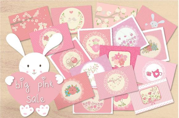 Big Pink Sale Five Sets In 1