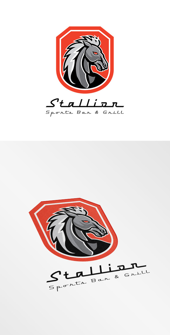 Stallion Sports Bar And Grill Logo