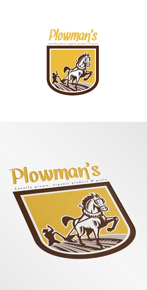 Plowman S Local Organic Produce Logo