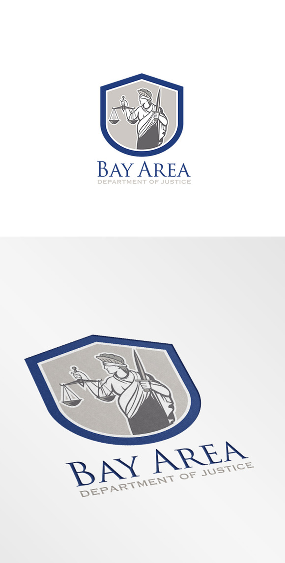 Bay Area Department Of Justice Logo