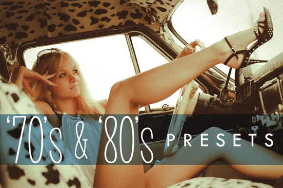 70s 80s Lightroom Presets