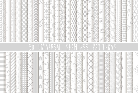 50 UNIVERSAL SEAMLESS PATTERNS 2$