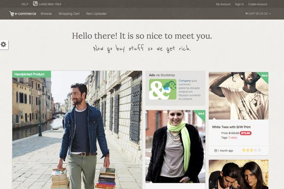 Ecom Online Shop Template