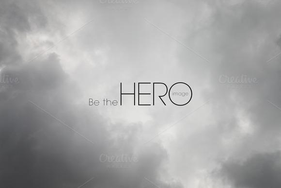Cloudy Hero Image