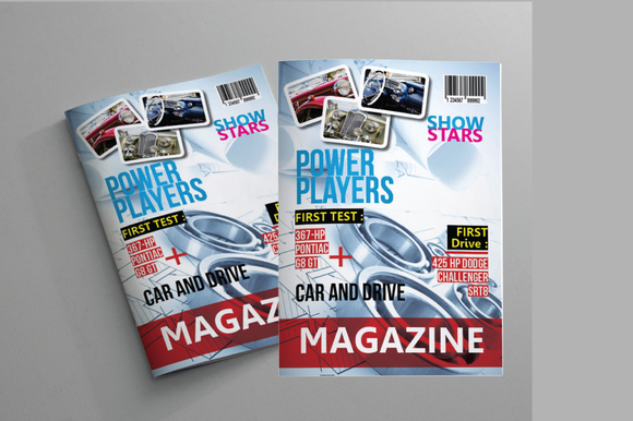 Car Business Magazine Template