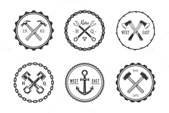 Crafts Emblems Brushes