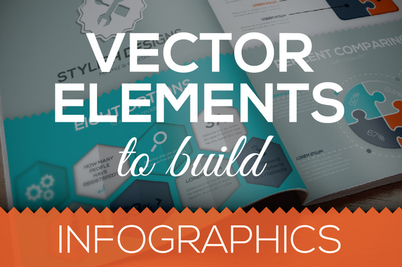 Vector Elements To Build Infographic