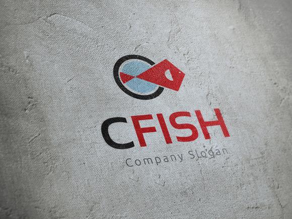 C Fish Logo