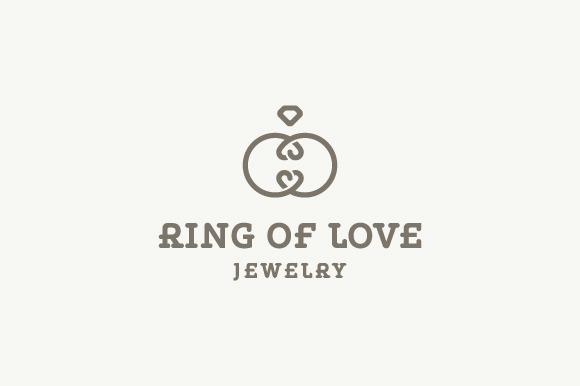 Ring Of Love Jewelry Logo