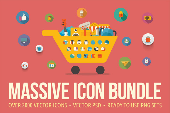 2000 Icons Bundle