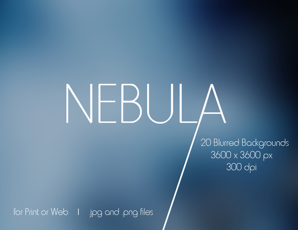 Nebula 20 Blurry Backgrounds