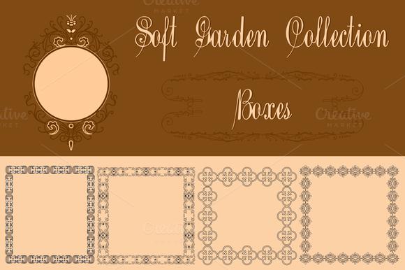 Soft Garden Collection Boxes
