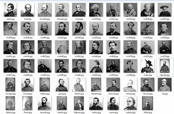 Civil War Leaders Collection
