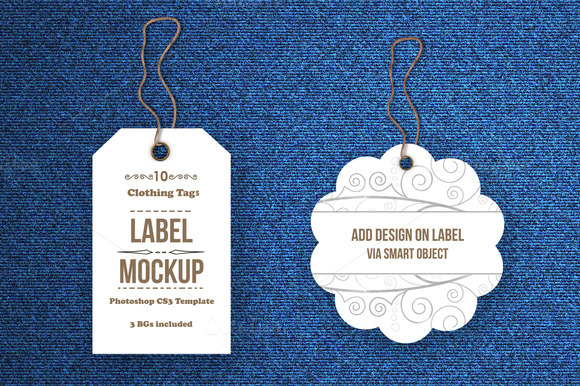 Tags Labels Mockup Bundle