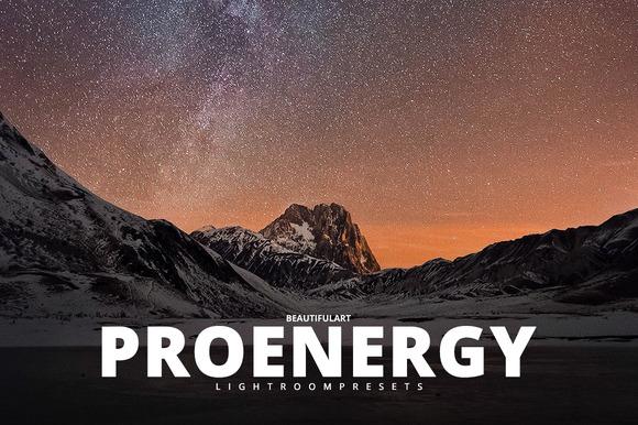 Pro ENERGY Lightroom Presets