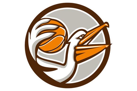 Pelican Dunking Basketball Circle