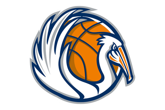Pelican Wings Basketball Retro