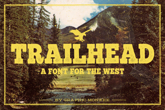 Trailhead A Font For The West