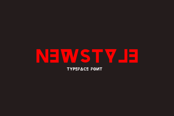 Newstyle Typeface Font