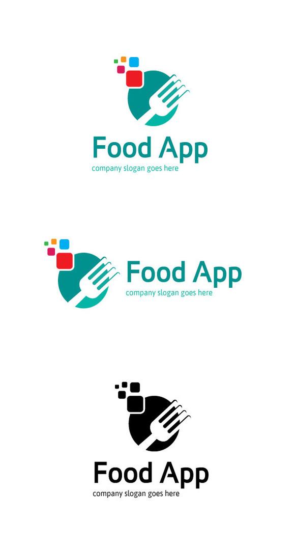 Food retro logo designtube creative design content for Application creation cuisine