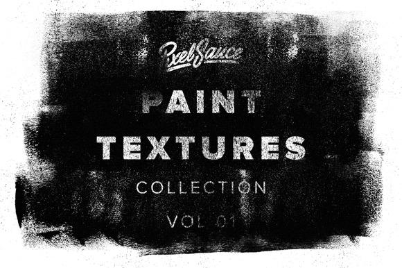 24 Vector Halftone Paint Textures