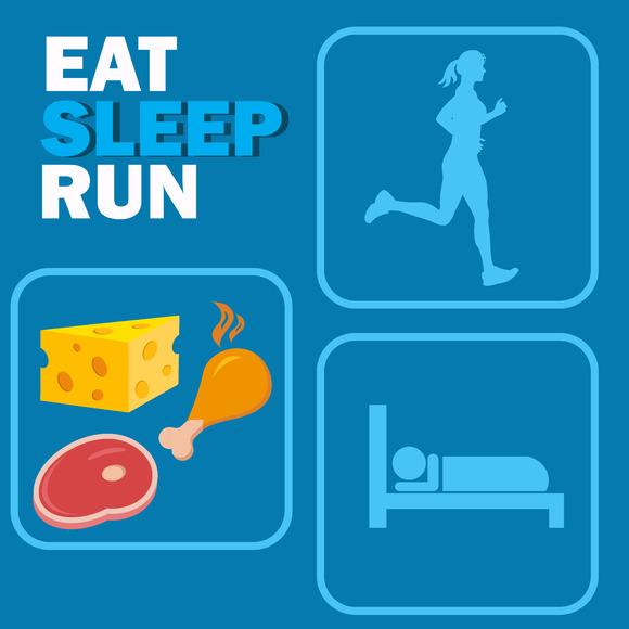 eat sleep race logo - photo #17
