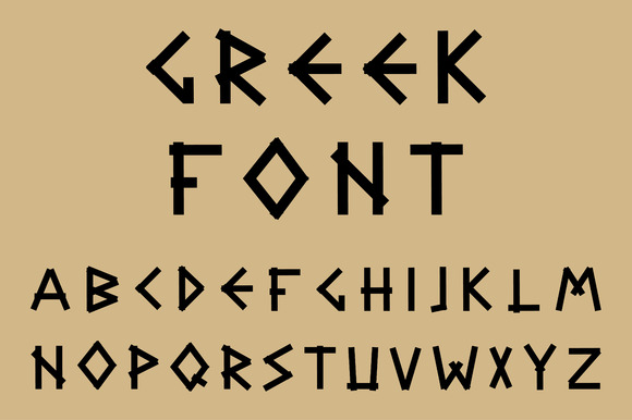 Greek Font F on 2016 Graphic Design Resumes Creative