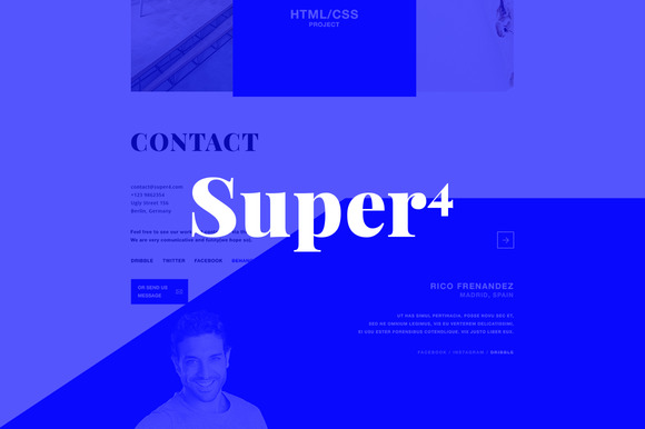 Super4 Modern Responsive Theme
