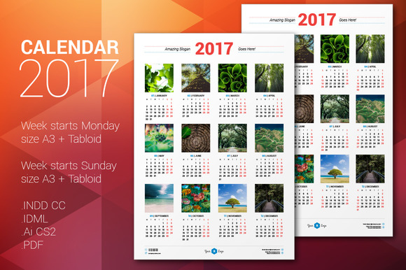 Calendar Poster Template : Free tabloid poster mock up designtube creative design